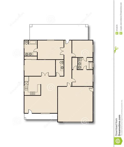 stock home plans house plan royalty free stock image image 3154576