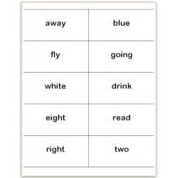 flash cards template word where to find and how to make printable dolch sight word