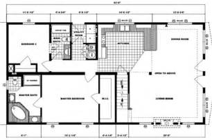 Rectangle House Floor Plans Manufactured Home Modular Floor Plans Modular Floor Plan