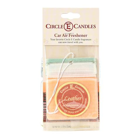 Circle E Candles Temple Tx by Circle E Leather Air Freshner