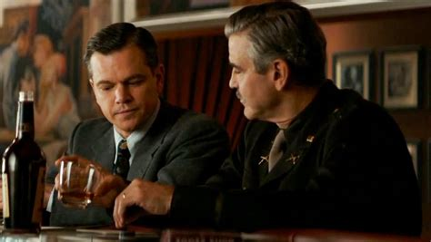 film oscar george clooney matt damon reteams with george clooney for the monuments