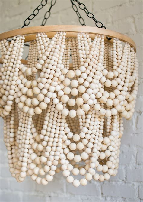 beaded wood chandelier best home how to make a bead chandelier best home design 2018