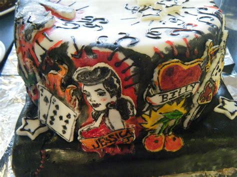 circus cakes  tattoo cake