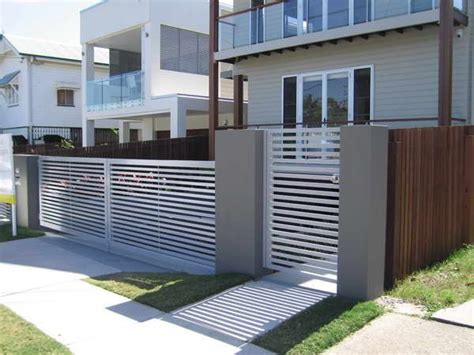 house fence and gate designs 1000 ideas about modern fencing and gates on pinterest modern fence modern fence
