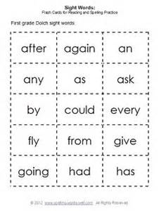 first grade sight words amp flash cards