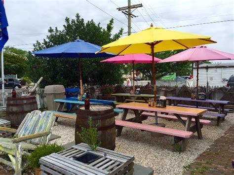 backyard tacos backyard seating picture of key west tacos west cape may tripadvisor
