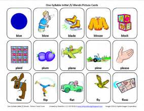therapy l l blends worksheet speech therapy l blend word list