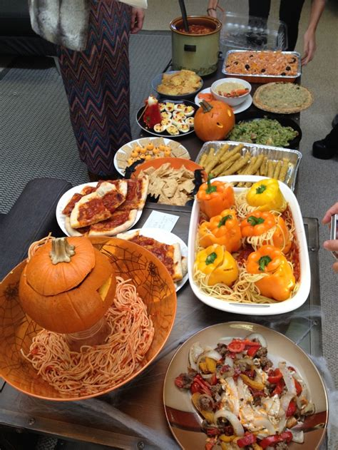 party potluck themes halloween themed office potluck office potluck