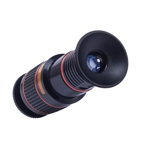 hd telephoto lens 12x optical zoom telescope lens clip for mobile phone ebay