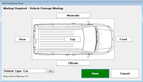 vehicle damage report form template car damage diagram template pictures inspirational pictures