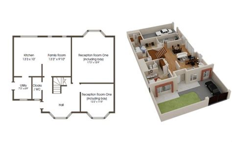 floor plan 3d house building design are 3d floor house building plans better than 2d floor plans netgains