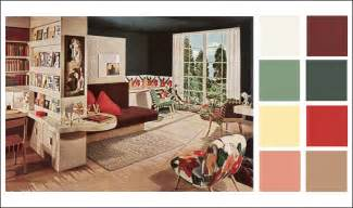 mid century modern color schemes  armstrong