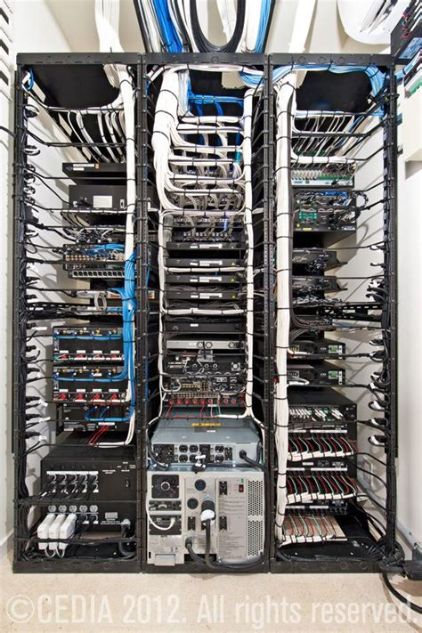Audio Rack Cable Management Audio And On Pinterest