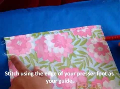 youtube tutorial sewing simple drawstring bag sewing tutorial youtube