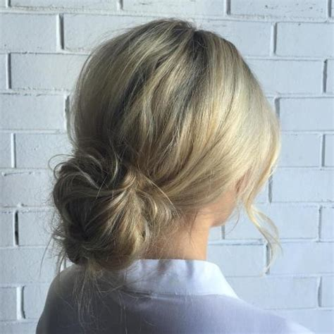 How To Do Hairstyles Buns by Best 40 Low Bun Updo Hairstyles Ideas On Therighthairstyles