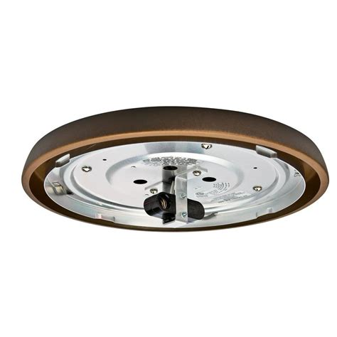 Low Profile Ceiling Fan Light Kit Casablanca 2 25 In Maiden Bronze Incandescent Low Profile Fitter Ceiling Fan Light Kit