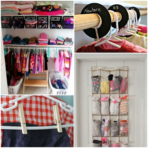 How To Organize Clothes Without A Closet by 15 Totally Genius Ways To Organize Baby Clothes
