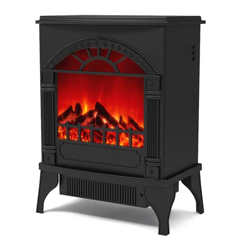Chimney Free Electric Stove Heater - apollo electric fireplace free standing portable space