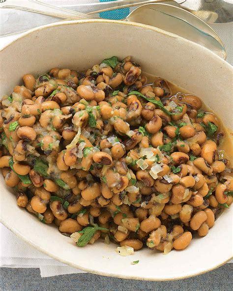 new year lucky recipes hearty black eyed peas recipe martha stewart