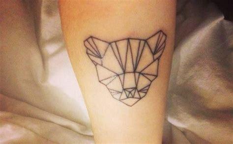 tattoo geometric tiger geometric tiger tattoo tatts pinterest
