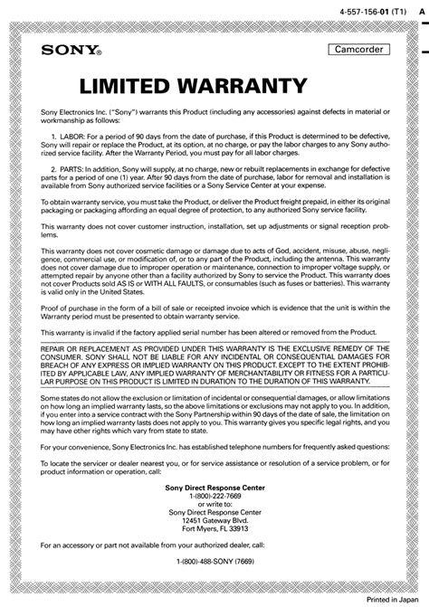 Guarantee Letter Sle For Equipment Default Condition Warranty Guarantee Print Ramani S