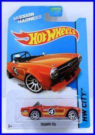 Wheels Triumph Tr6 Mission Madness Fs 2014 Kmj Diecast Triumph Tr6 Collectibles Hobbydb