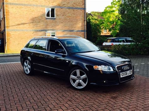 Audi A4 Door by Audi A4 Avant S Line Tdi Auto 5 Door Estate 2006 In Black