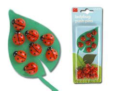 ladybug desk accessories polymer clay narwhal push pin office desk accessory by
