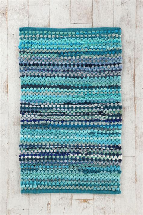 ribbon rug ribbon rag rug outfitters blue and rag rugs
