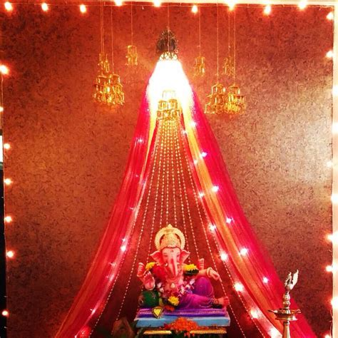 ganpati decoration indian customs decoration