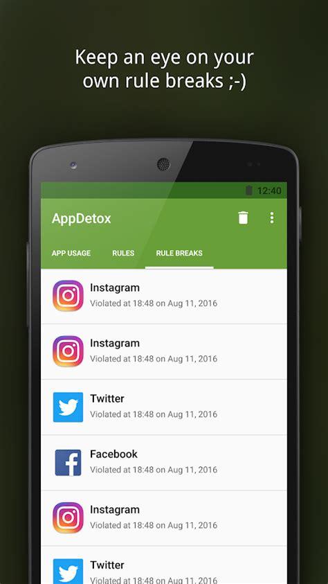 Digital Detox App Iphone by Appdetox App Blocker For Digital Detox Android Apps On