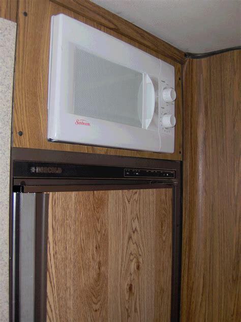 built in microwave cabinet repair