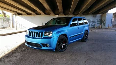 jeep grand cherokee vinyl wrap jeep grand cherokee 3m matte metallic blue vinyl wrap