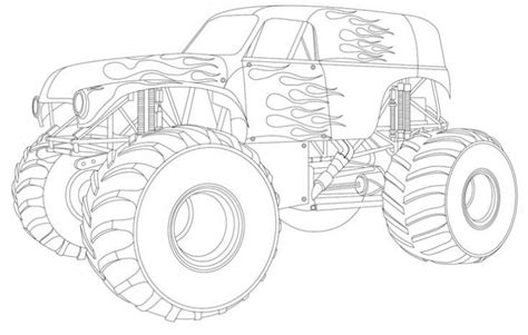 grave digger truck coloring pages grave digger truck coloring page to print