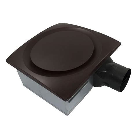 bathroom exhaust fan with light oil rubbed bronze ap90 sg6or aero pure ap90 s g6 or slim fit quiet 90 cfm