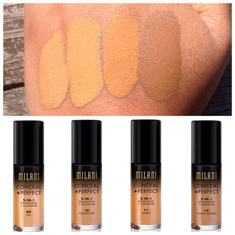 Davis 2in1 Eyeshadow 2 In 1 milani conceal 2 in 1 foundation concealer 9 12 makeup swatches