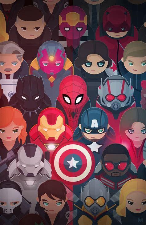Captain America Marvel Dc Comics D0324 Iphone 7 Marvel Mini Guerra Civil Captain America