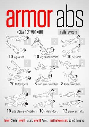 a multitude of free visual workouts cool health