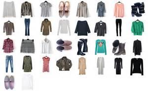 world of winter capsule wardrobe 2017