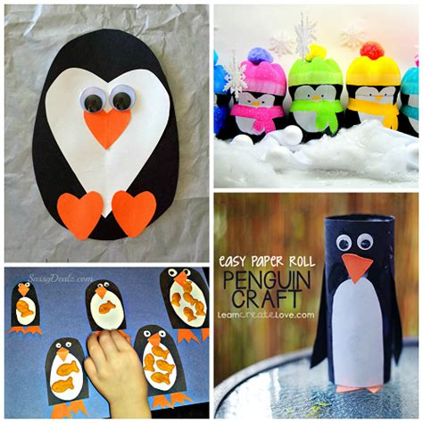 crafts for children to make creative penguin crafts for to make crafty morning