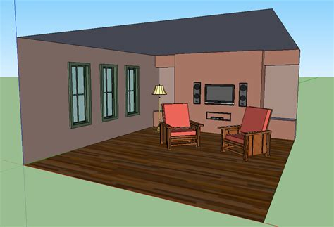 how to draw a 3d room drawing a room sketchup make drawing in 3d