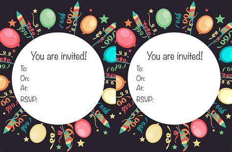 free birthday invites uk free printable children s birthday invitations goodtoknow