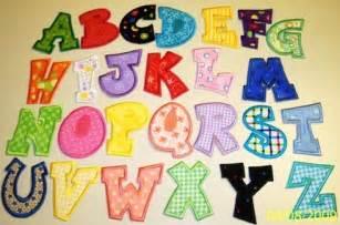 fabric applique letters how to applique