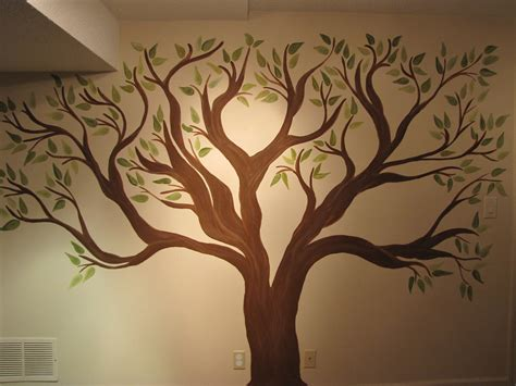 tree stencil for wall mural creative genius family tree wall mural