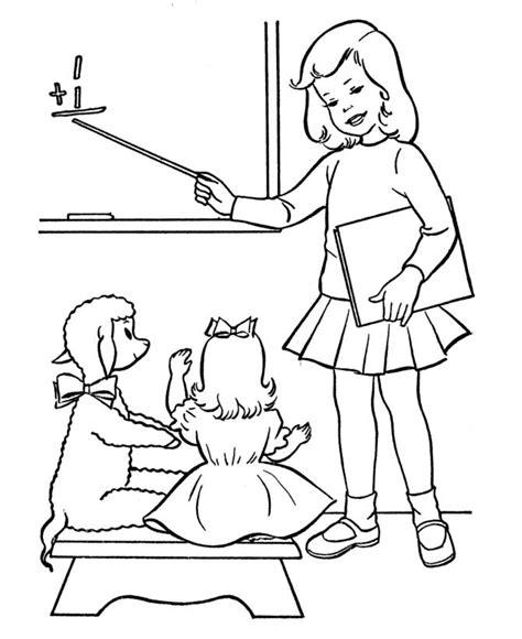 dibujos maestra infantil az dibujos para colorear dibujos de maestras para colorear imagui