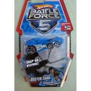 snap on hot tank hot wheels battle force 5 buster tank w snap on weapons