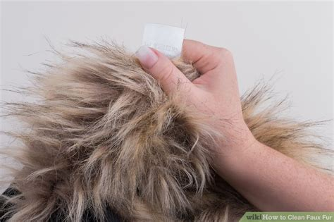how to put a fur throw on a sofa how to clean faux fur 10 steps with pictures wikihow