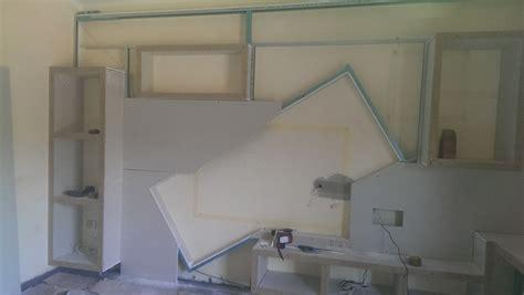 mobili in cartongesso progetto mobile in cartongesso idee costruzione