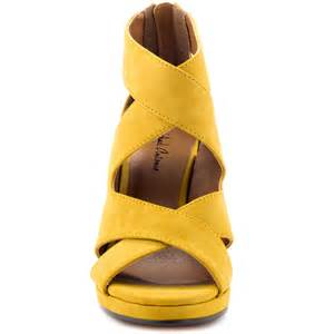 mustard color shoes gracey mustard pu michael antonio 59 99 free shipping