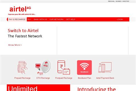 Airtel Website Template In Html Css With Animation Free Source Code Tutorials And Articles Html And Css Templates With Source Code Free